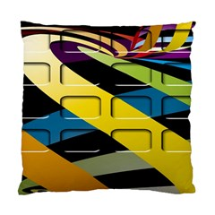 Colorful Docking Frame Standard Cushion Case (Two Sides)