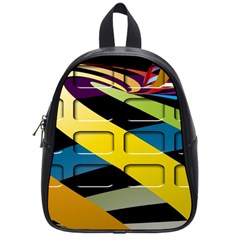 Colorful Docking Frame School Bags (Small)