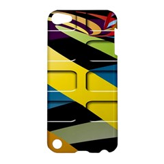 Colorful Docking Frame Apple iPod Touch 5 Hardshell Case