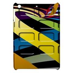 Colorful Docking Frame Apple Ipad Mini Hardshell Case