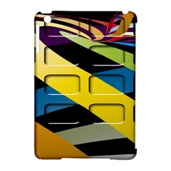 Colorful Docking Frame Apple Ipad Mini Hardshell Case (compatible With Smart Cover)