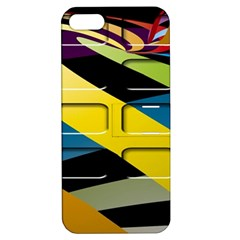 Colorful Docking Frame Apple iPhone 5 Hardshell Case with Stand