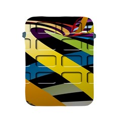 Colorful Docking Frame Apple iPad 2/3/4 Protective Soft Cases