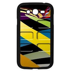 Colorful Docking Frame Samsung Galaxy Grand DUOS I9082 Case (Black)