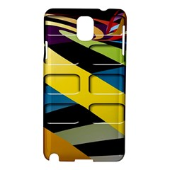 Colorful Docking Frame Samsung Galaxy Note 3 N9005 Hardshell Case