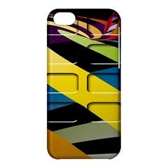 Colorful Docking Frame Apple iPhone 5C Hardshell Case