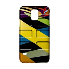 Colorful Docking Frame Samsung Galaxy S5 Hardshell Case