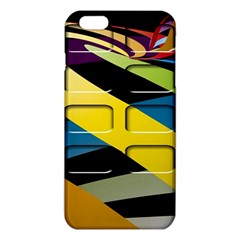 Colorful Docking Frame Iphone 6 Plus/6s Plus Tpu Case