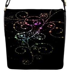 Sparkle Design Flap Messenger Bag (S)