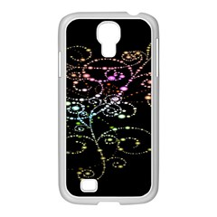 Sparkle Design Samsung GALAXY S4 I9500/ I9505 Case (White)