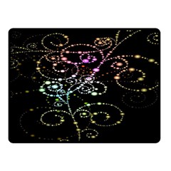 Sparkle Design Double Sided Fleece Blanket (Small)