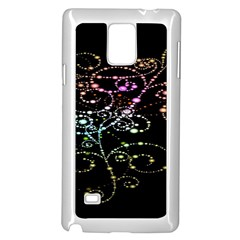 Sparkle Design Samsung Galaxy Note 4 Case (White)