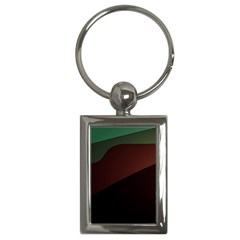 Color Vague Abstraction Key Chains (Rectangle)