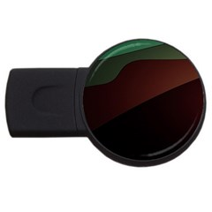 Color Vague Abstraction USB Flash Drive Round (2 GB)