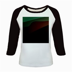 Color Vague Abstraction Kids Baseball Jerseys