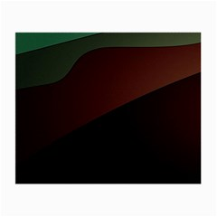 Color Vague Abstraction Small Glasses Cloth (2-Side)