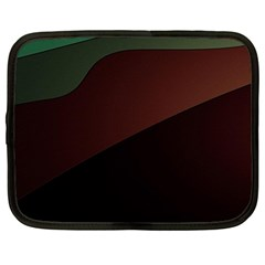 Color Vague Abstraction Netbook Case (Large)