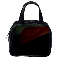 Color Vague Abstraction Classic Handbags (One Side)