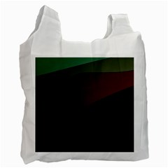 Color Vague Abstraction Recycle Bag (two Side)