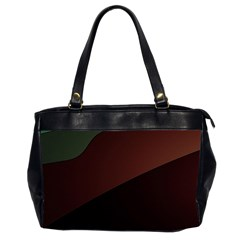 Color Vague Abstraction Office Handbags (2 Sides)