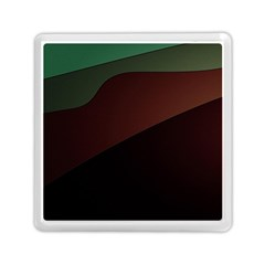 Color Vague Abstraction Memory Card Reader (square)