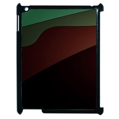 Color Vague Abstraction Apple Ipad 2 Case (black)