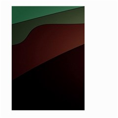 Color Vague Abstraction Large Garden Flag (two Sides)