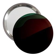 Color Vague Abstraction 3  Handbag Mirrors