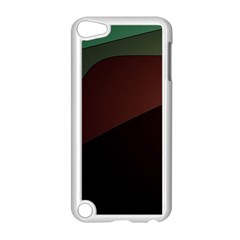 Color Vague Abstraction Apple iPod Touch 5 Case (White)