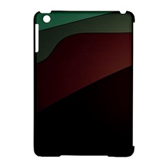 Color Vague Abstraction Apple iPad Mini Hardshell Case (Compatible with Smart Cover)