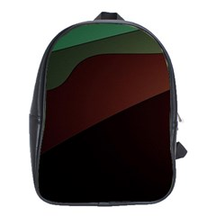 Color Vague Abstraction School Bags (xl)