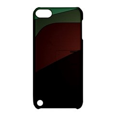 Color Vague Abstraction Apple iPod Touch 5 Hardshell Case with Stand