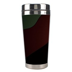 Color Vague Abstraction Stainless Steel Travel Tumblers