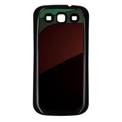Color Vague Abstraction Samsung Galaxy S3 Back Case (black)