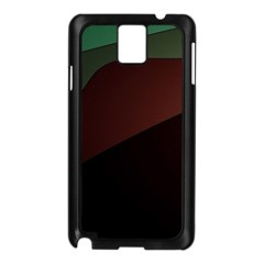 Color Vague Abstraction Samsung Galaxy Note 3 N9005 Case (Black)