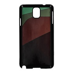Color Vague Abstraction Samsung Galaxy Note 3 Neo Hardshell Case (black)