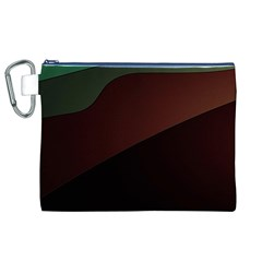 Color Vague Abstraction Canvas Cosmetic Bag (XL)