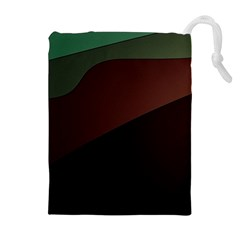 Color Vague Abstraction Drawstring Pouches (extra Large)