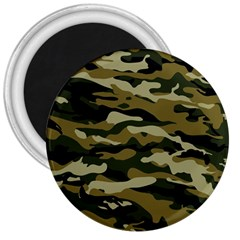 Military Vector Pattern Texture 3  Magnets