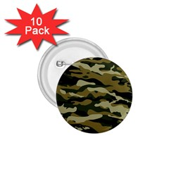 Military Vector Pattern Texture 1.75  Buttons (10 pack)