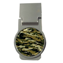 Military Vector Pattern Texture Money Clips (Round)