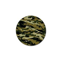 Military Vector Pattern Texture Golf Ball Marker (4 pack)