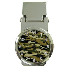 Military Vector Pattern Texture Money Clip Watches