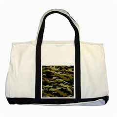 Military Vector Pattern Texture Two Tone Tote Bag