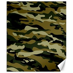 Military Vector Pattern Texture Canvas 20  X 24