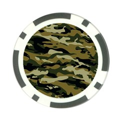 Military Vector Pattern Texture Poker Chip Card Guard