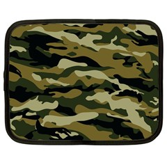 Military Vector Pattern Texture Netbook Case (Large)