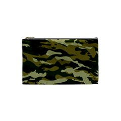 Military Vector Pattern Texture Cosmetic Bag (small)