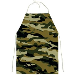 Military Vector Pattern Texture Full Print Aprons