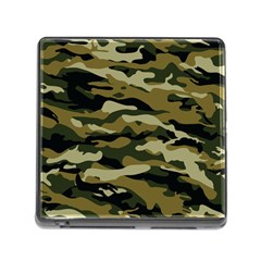 Military Vector Pattern Texture Memory Card Reader (Square)